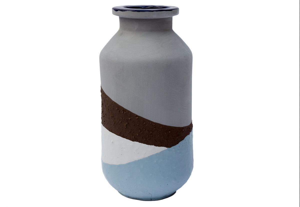 Plunge Vase medium blue Jeroen Wand for Cor Unum