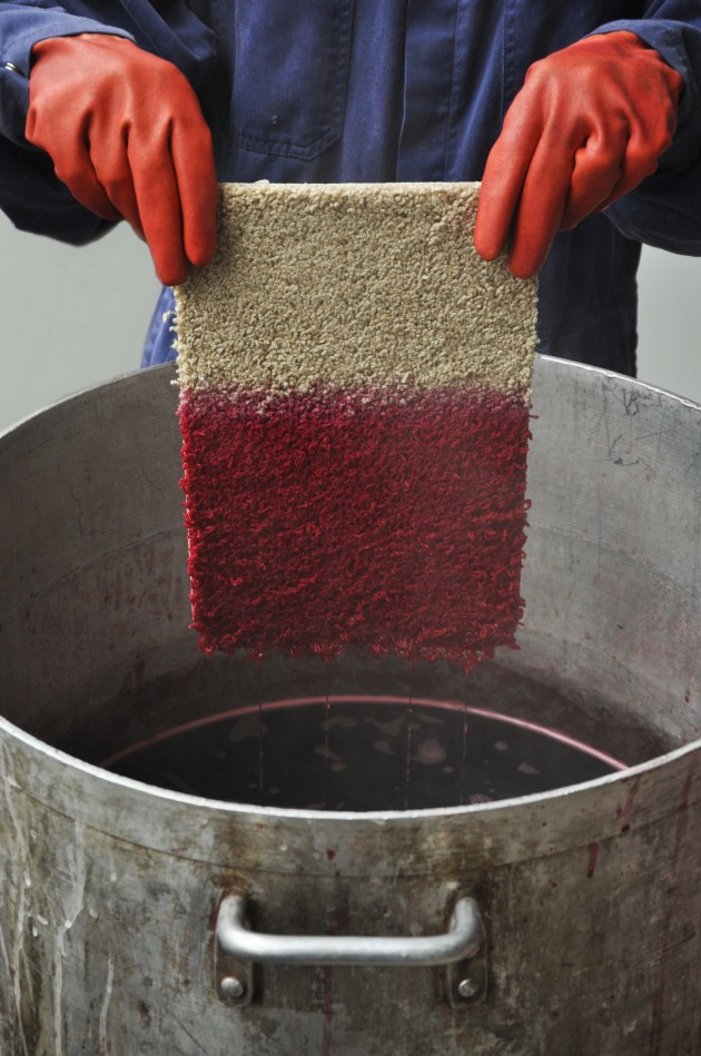 Reviving carpet rENs en DESSO