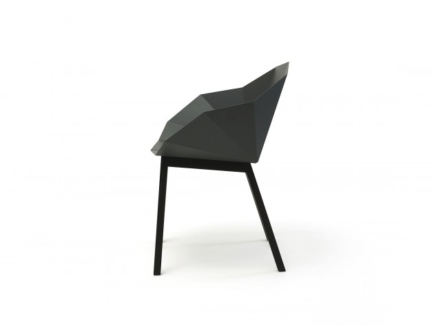 SEATSHELL BASIC DARK DARKASH SIDE by Frederik Roijé