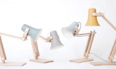 Trumpet tafellamp van M.OSS design