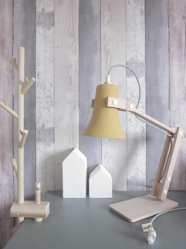 Trumpet lamp geel - MOSS design