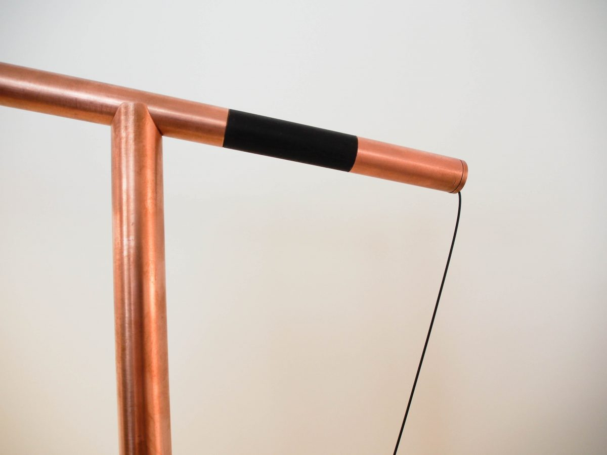 Detail lamp Balance Copper