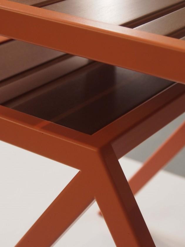 Koper brons Contorno No 9 side table Jolanda van Goor photo Gimmii