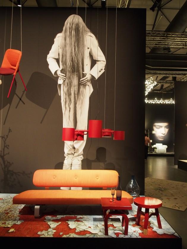MOOOI Van Lieshout pendant red Milaan photo Nanda Rave Gimmii