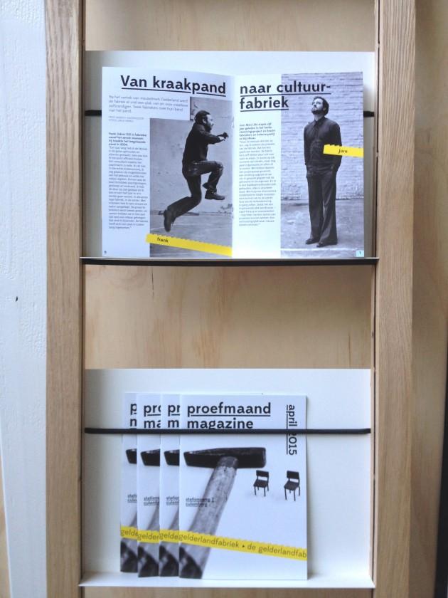 Proefmaand magazine Van kraakpand naar cultuurfabriek