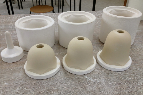 Scape Oato the making of together with ceramist Frans Ottink