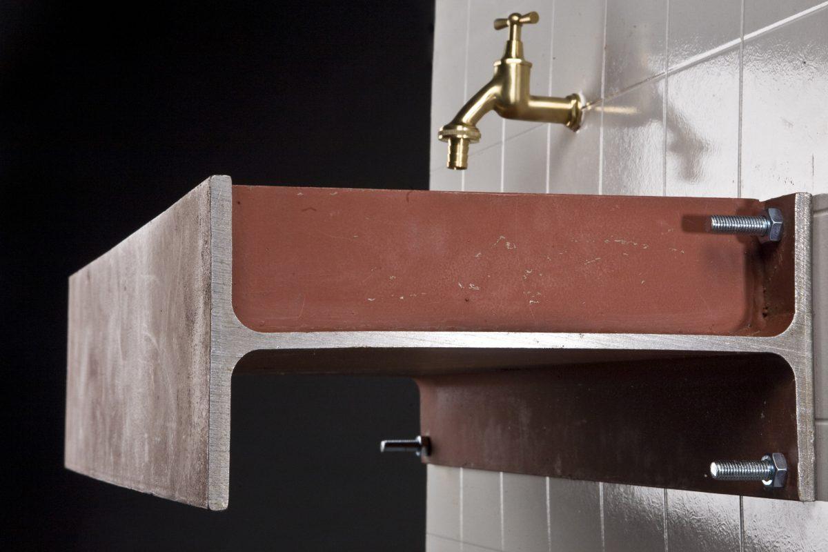 Sink #1 wasbak industrieel Atelier GertJan