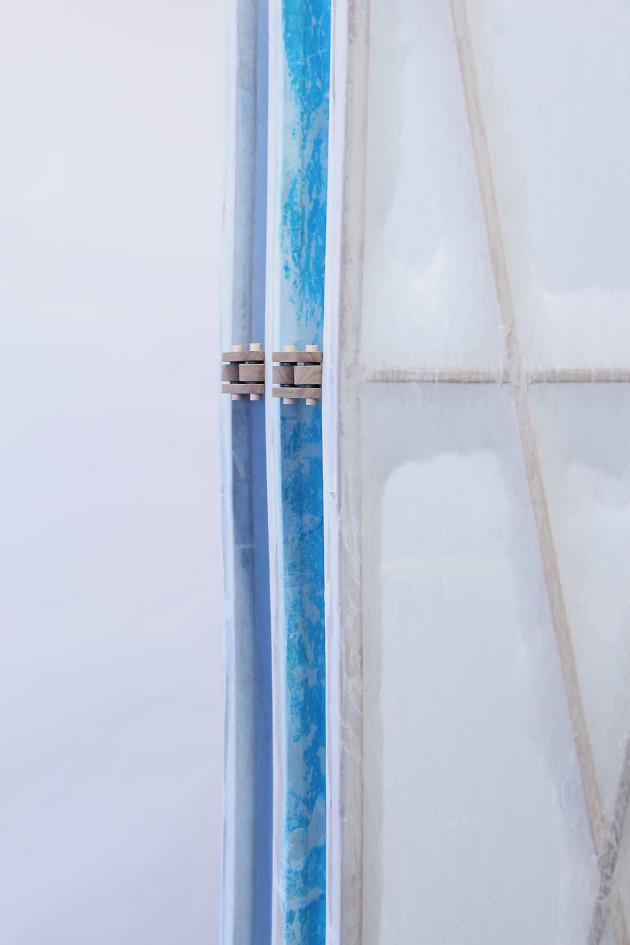 detail kamerscherm Studio Jeroen Wand