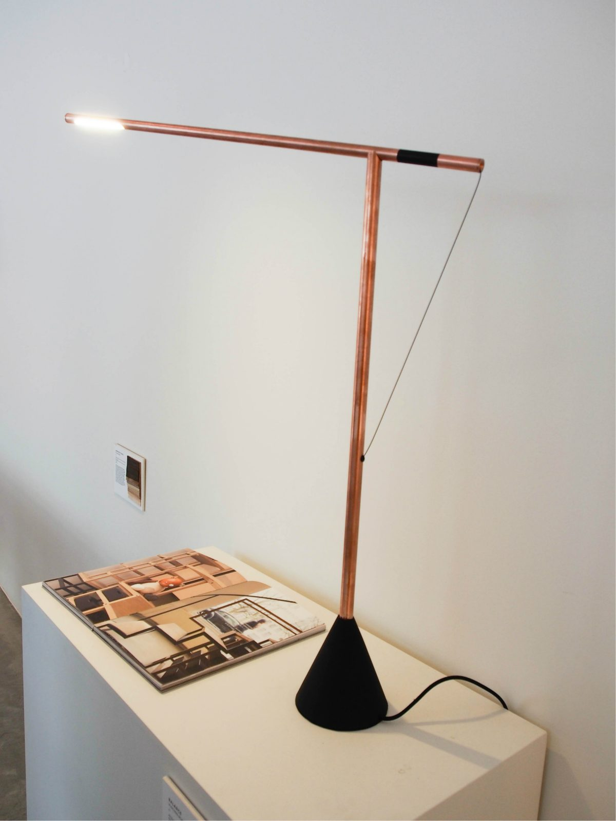 Studio Mieke Meijer Balance Copper lamp