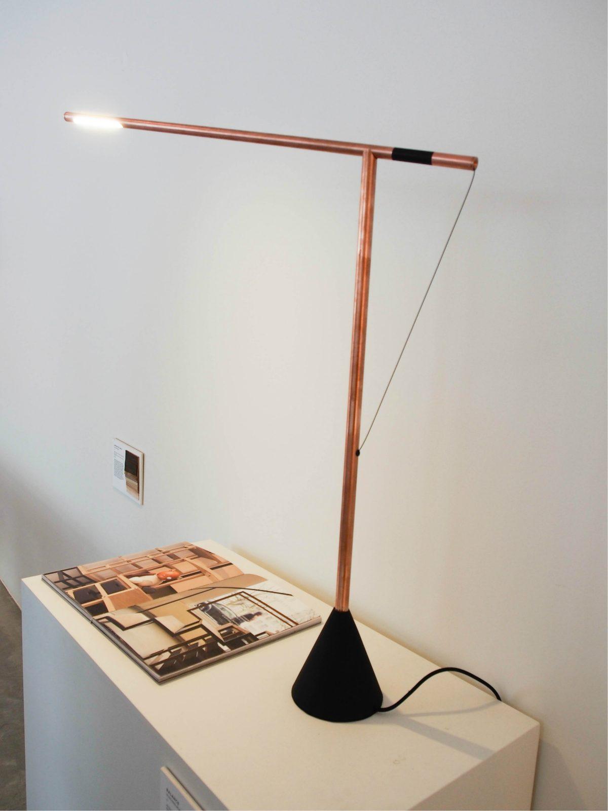 Studio Mieke Meijer Balance Copper lamp