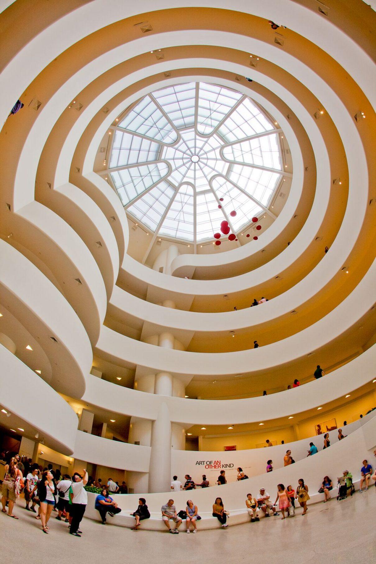Vase #2 eert het Guggenheim