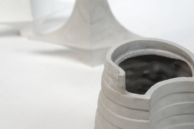Vase #2 detail Atelier GertJan inspiratie Guggenheim
