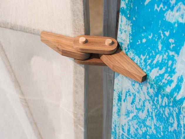 detail Jeroen Wand kamerscherm solid flat