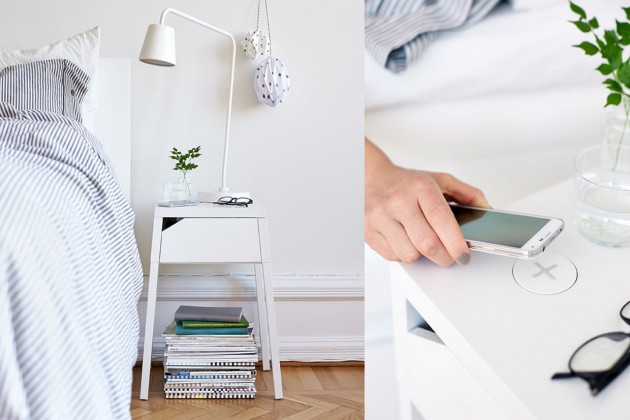 ikea wireless charging designcollectie