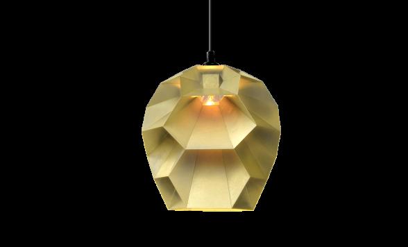 Beehive hanglamp messing