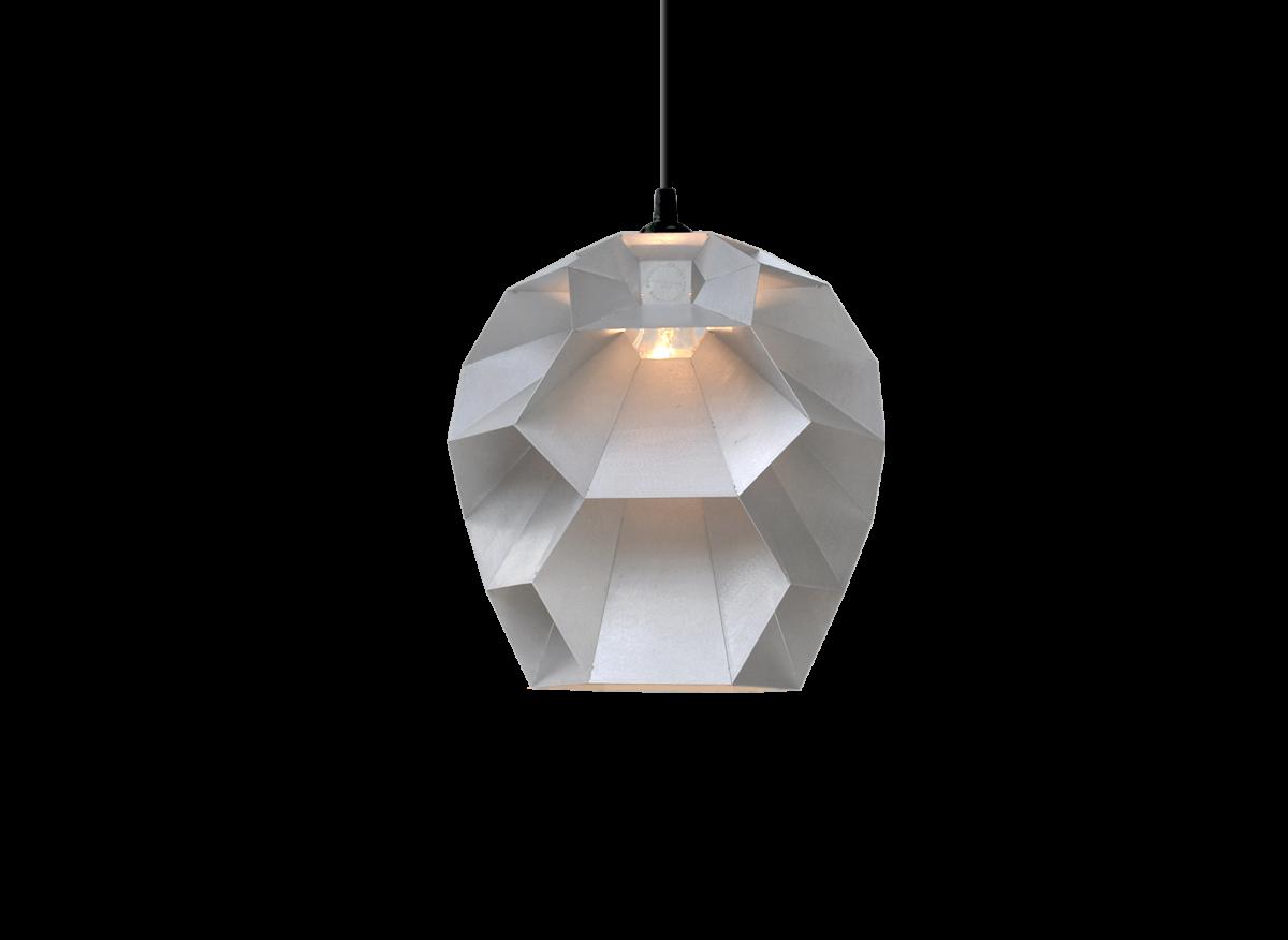 Beehive hanglamp aluminium