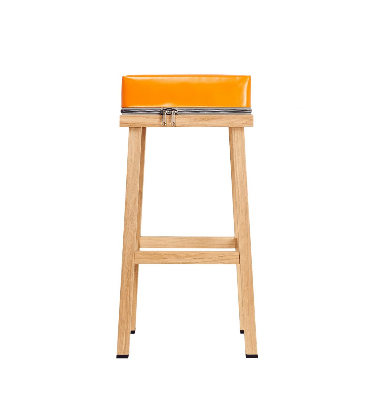 Barstool Truecolors orange Visser Meijwaard