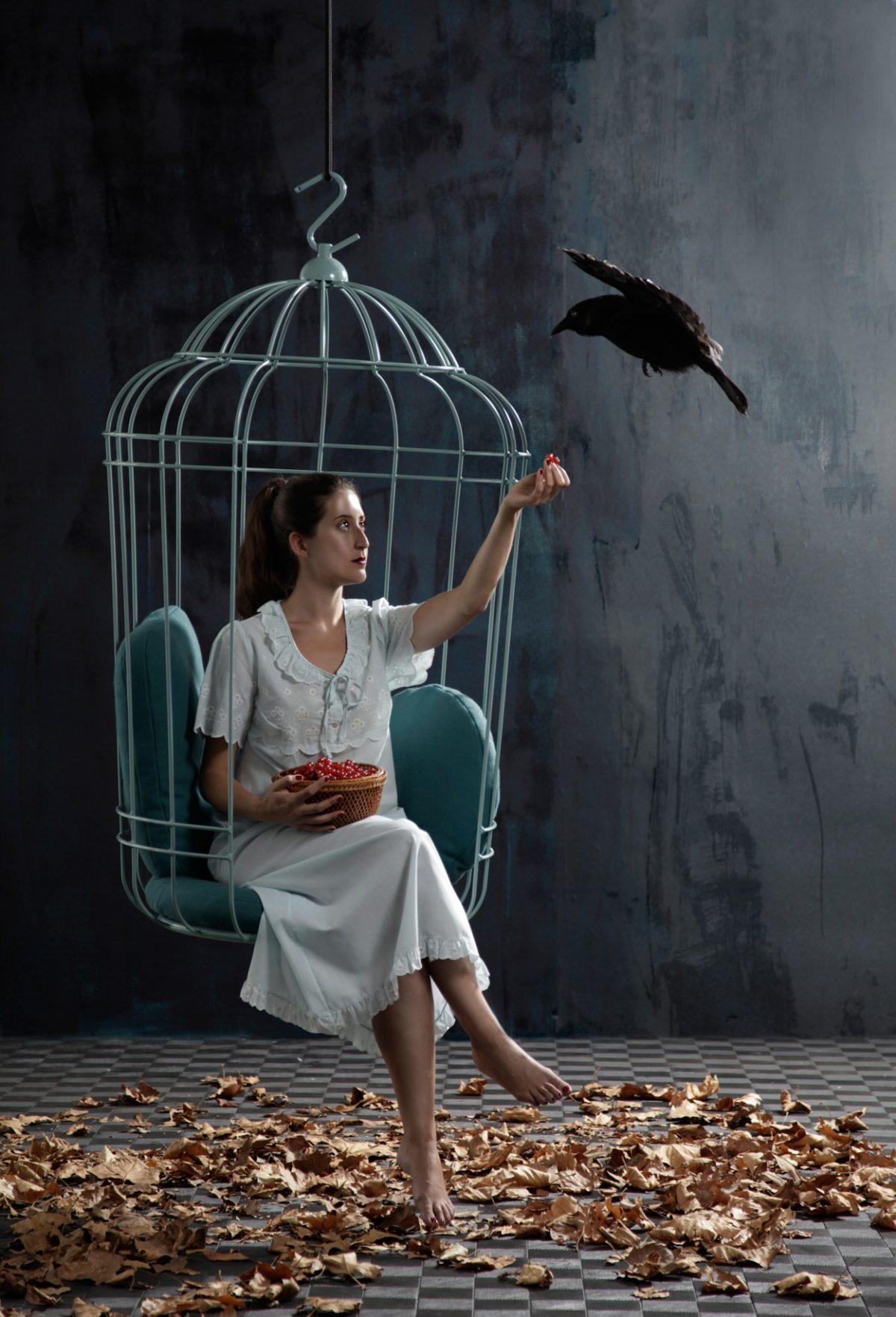 Cageling hangstoel ontspanning loungen – Ontwerpduo Dutch design