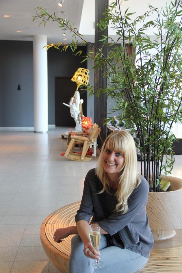 Chitchat by Teun Fleskens with Jolanda van Goor Artemis Hotel Foto GImmii