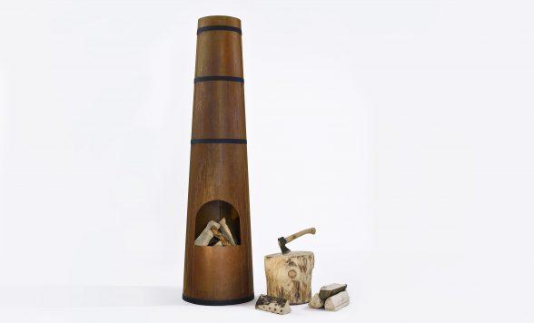 Smokestack tuinhaard