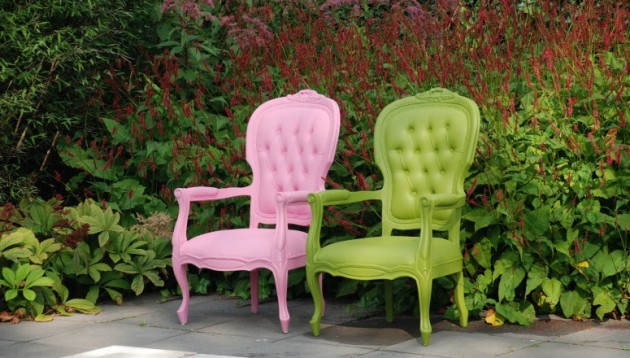 JSPR - Plastic Fantastic stoelen