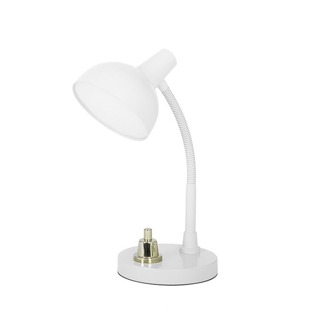 Job office desk lamp studio Job Lensvelt wit zijkant