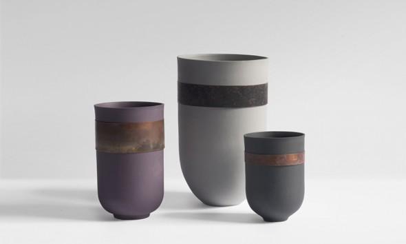 MarieLiebhardt metal Flaws Vase
