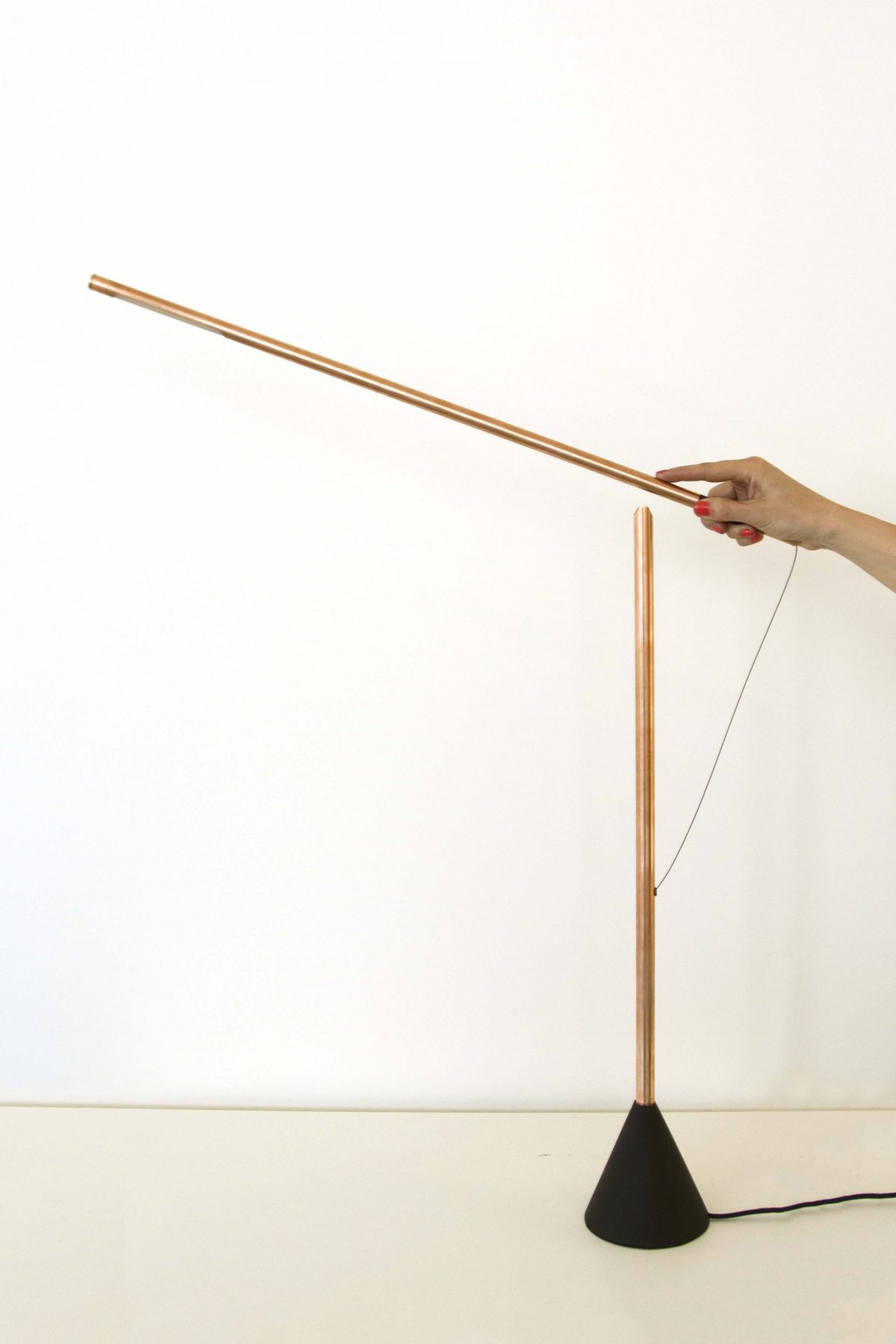 Mieke Meijer Balance lamp copper