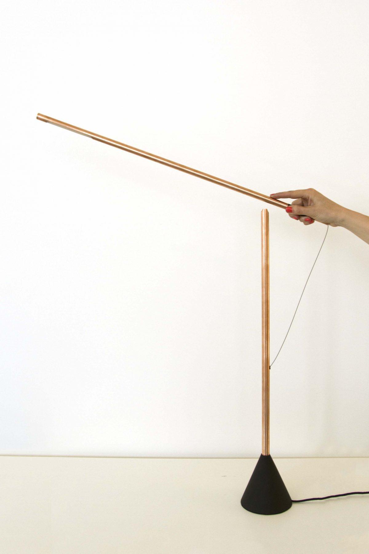 Mieke Meijer Balance lamp copper