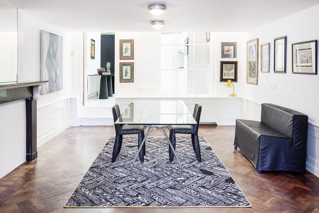 Parquet Job Carpet Studio Job Lensvelt Singel Amsterdam