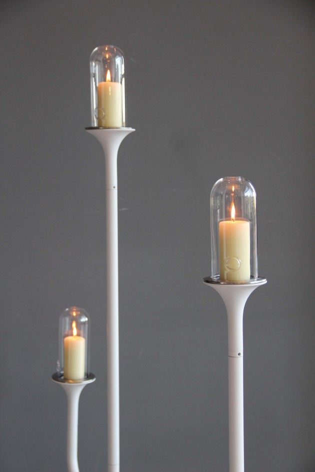 Teun Fleskens Candle Stands indoor outdoor foto Gimmii
