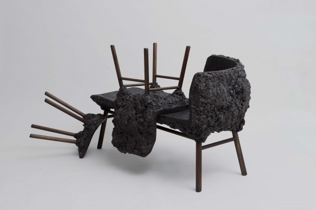 Transnatural art design label Well Proven stool & chair & Chaise