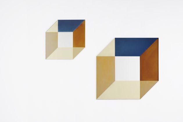 Transnatural cubic transience mirror David Derksen & Lex Pott spiegel kubus 3D