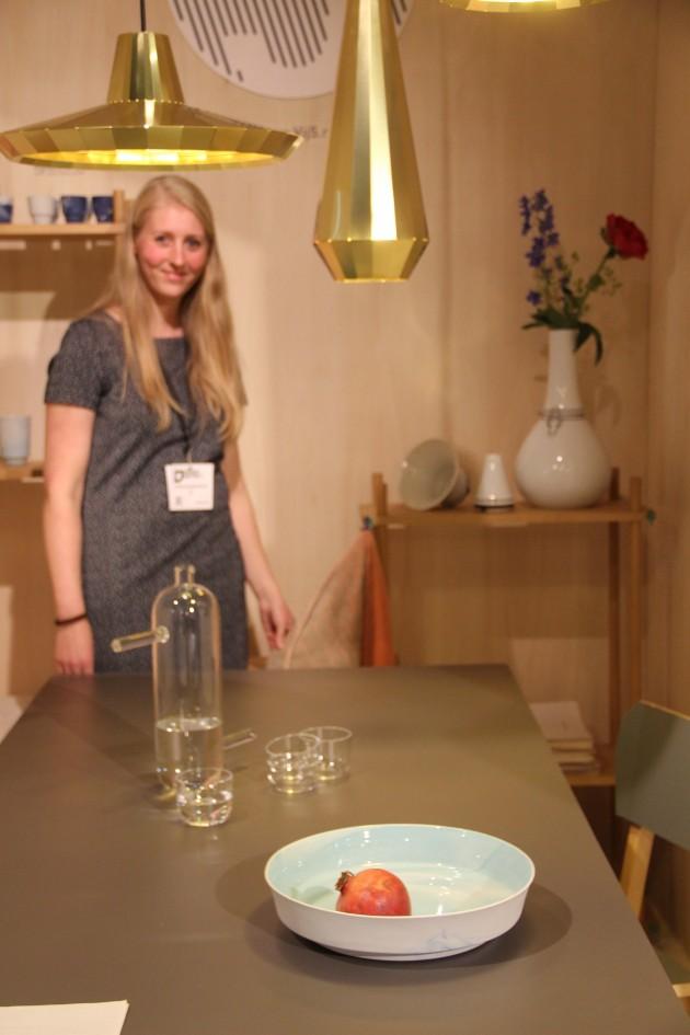 Vij5 Anieke Branderhorst Copperlightsmessing Flexvase schaal pigmentsporcelain Schenk fotoGimmii