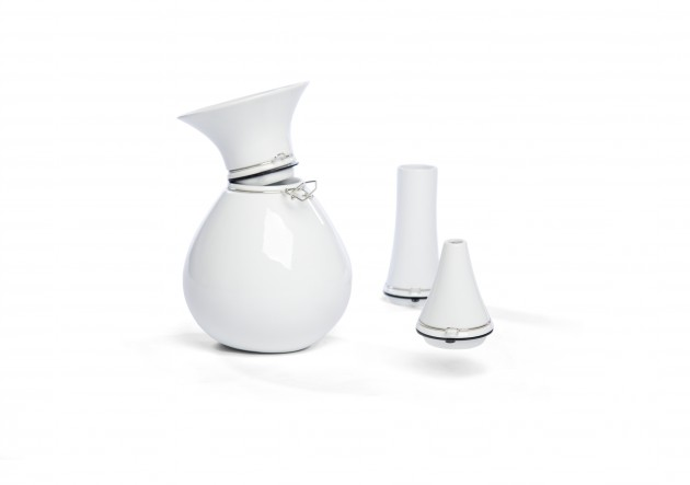 Vij5 FlexVase white porcelain