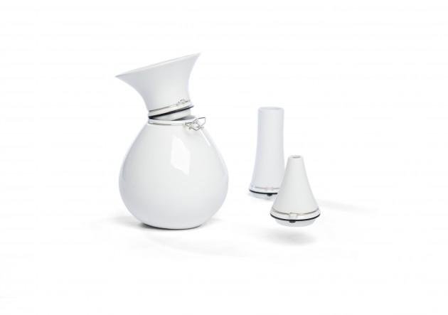 Vij5 FlexVase white porcelain