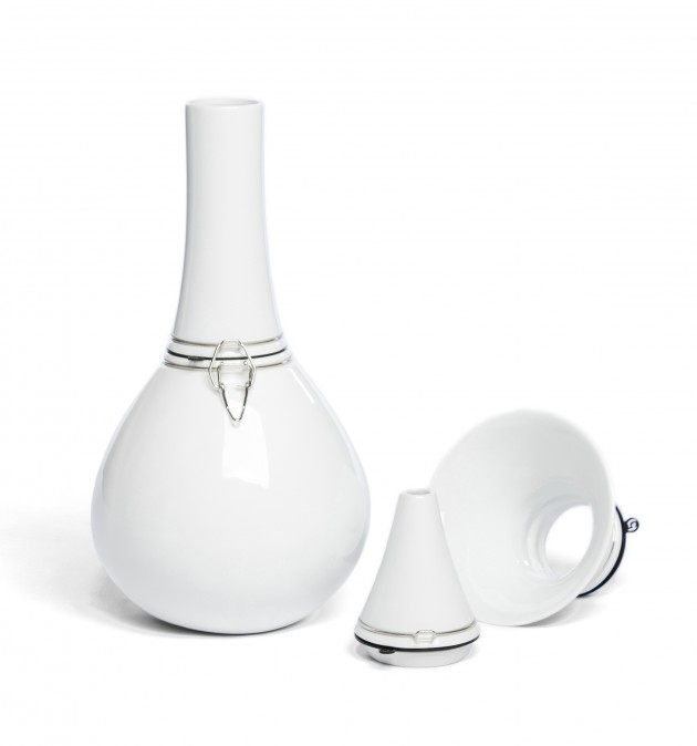 Vij5 FlexVaas White porcelain FlexVase