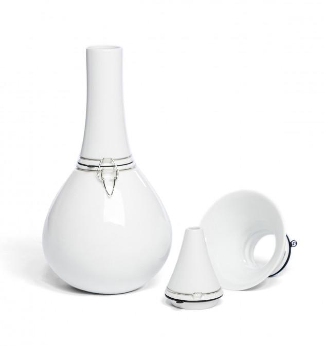 Vij5 FlexVaas White porcelain FlexVase
