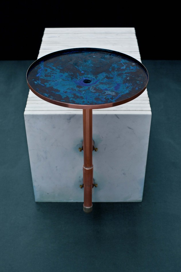 Afstudeeerproject Marlies van Putten marmer koper oxidatie