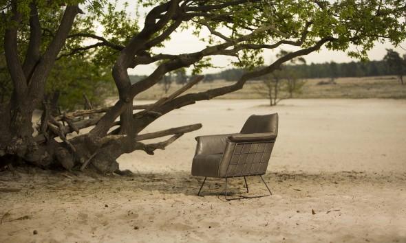 RAZ fauteuil Luxor Grey by Jess design