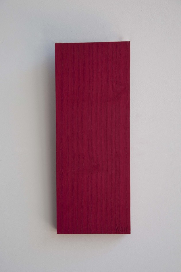 ROOD WOOD SAMPLES  Essen hout rENs Wandaccesoire