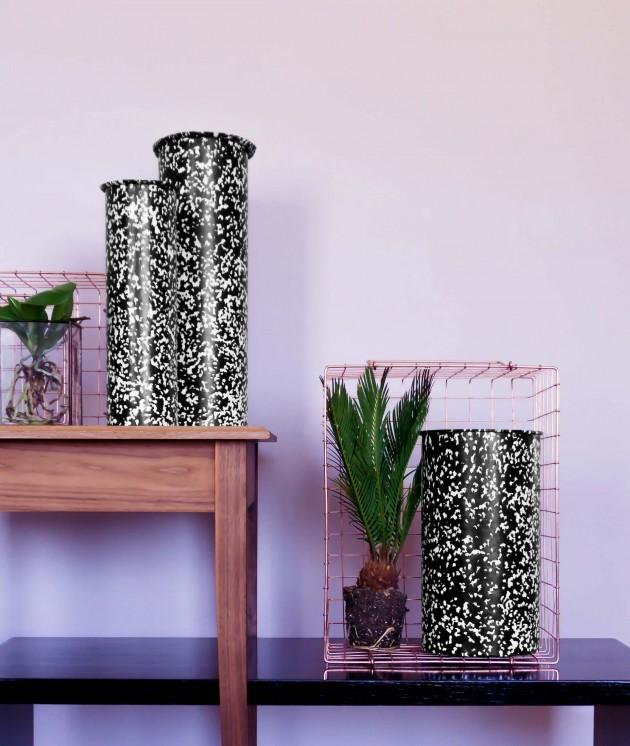 Tube vazen Handmade Industrials interior Gimmii