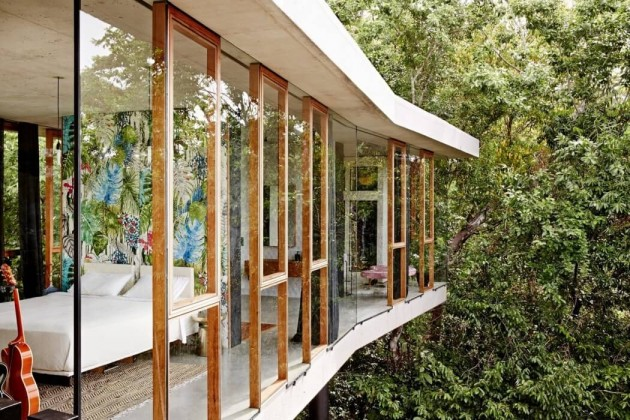 View planchonella house jesse bennett architect