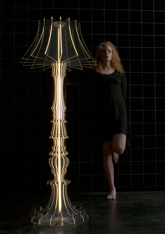 Vloerlamp Josephine model standing