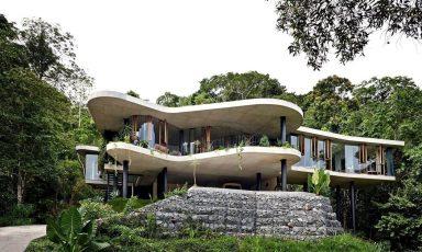 Australische architectuur in de natuur