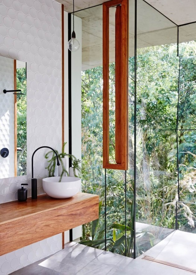 planchonella house jesse bennett architect bathroom