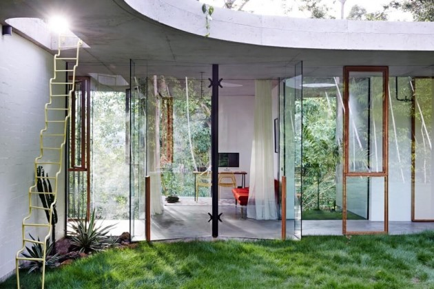 planchonella house jesse bennett architect glass