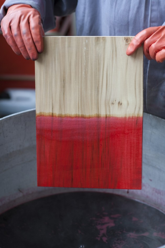 rENs ROODWOOD sample productieproces Gimmii