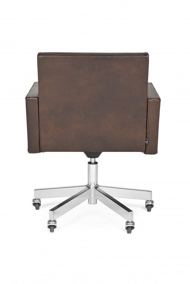 AVL office chair bureaustoel Old Saddle leer