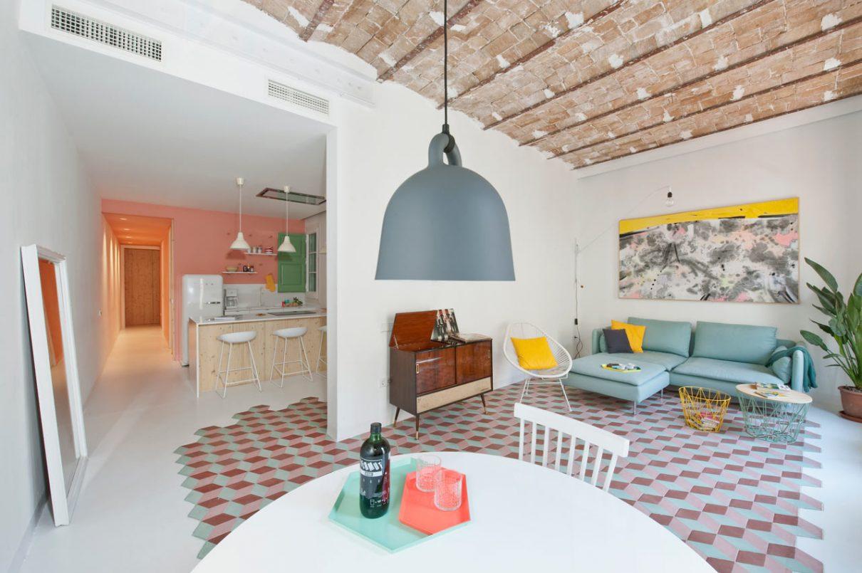 Licht appartement inspiratie in Barcelona - shop online Gimmii ...